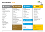 Ayırma Listesi 2015
