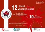 Bilimsel Program - 12. Ulusal Geriatri Kongresi