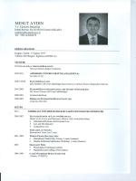 MESUT AYDIN - Ekonomi Bakanlığı