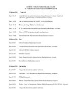 1 Mart tarihleri arasındaki - Edirne Vergi Dairesi Başkanlığı