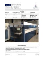 TruLaser 3030 (L20) TruFlow 5000