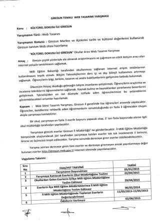 29-04-2015-WEB TASARIM-Kültürel Dokusu İle Giresun