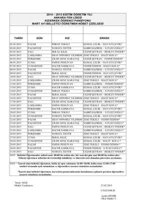 2012 - 2013 eğitim öğretim yılı