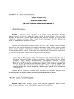 ankara su ve kanal zasyon dares genel müdürlüğü yönet m