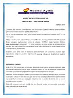 YGS YORUMLARIMIZ 15 Mart 2015 - Nesibe Aydın Eğitim Kurumları