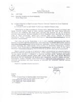 1 Belge - Van Kamu Hastaneleri Birliği Genel Sekreterliği