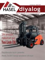 Yeni Linde E80 - Hasel İstif Makinaları