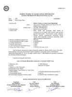 Banka Promosyon İhalesi Sonuç İlanı 16.03.2015