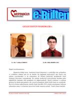 GELECEKTEN HABERLER-1 - Kardiyovasküler Akademi Derneği