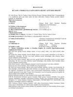 84 Adet 2,5 Tonluk İtfaiye Tipi Su Tankeri Alımı İşi