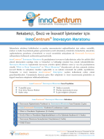 innoCentrum İnovasyon Maratonu - innoCentrum