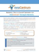 innoCentrum İnovasyon Maratonu - innoCentrum