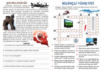 3. sınıf tekrar dergisi 20. sayı – şehirlerimiz