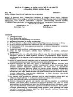 9.olağan genel kurul ilanı - Muğla Damızlık Sığır Yetiştiricileri Birliği