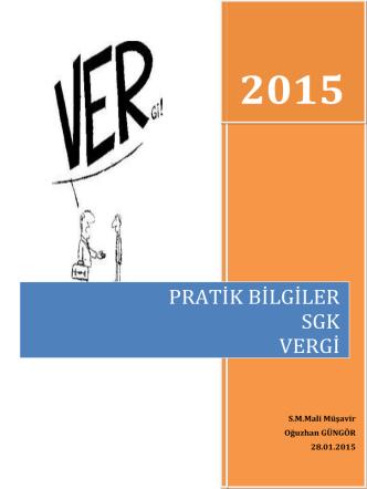2015 Pratik Bilgiler