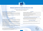 Erasmus Charter for Higher Education