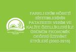3.Niğde ve Nevşehir Koşullarında Farklı İkim Nöbeti Sistemlerinin