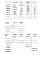 9/ EFG 9/ HI-İ 9/ JMN 9/ KL 11.sınıf 1.GRUP 11.sınıf 2.GRUP 10