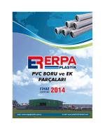 Erpa Plastik 2014 Fiyat Listesi