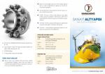 2015 Yılı Sanayi Altyapısı Mali Destek Programı Broşürü