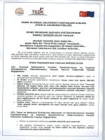 TKDK Aydın İl Koordinatörlüğü IPARD Programı Başvuru