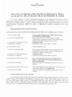 Toplantı ve Gösteri Yürüyüşleri Güzergâhları ile Miting Alanları ve
