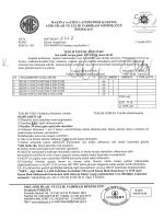 Teklif İsteme Mektubu Ve Teknik Özellikler rsmb 14-970