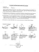 il kurban hizmetleri komisyonu kararı