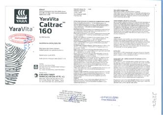 Caltrac 160 - Sumi Agro Turkey