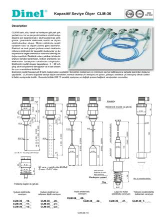 CLM-36 kullanma kılavuzu