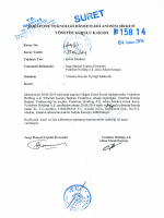 21.06.2014 tarihli karar