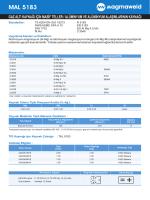 MAL 5183 - Oerlikon Kaynak