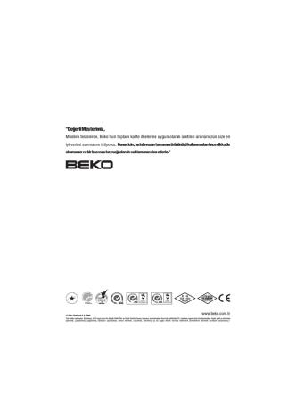 Beko 100 TR yazar kasa kullanım klavuzu için tıklayınız