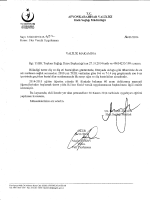 VALİLİK OLUR - Afyonkarahisar Halk Sağlığı Müdürlüğü
