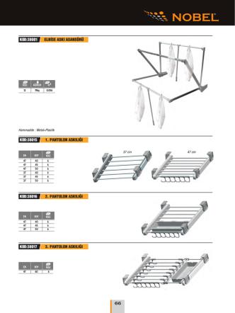 Daha fazlası için Gardrop Sistemleri PDF