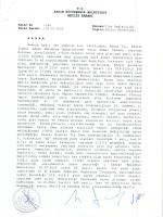 T.C. Aydın Büyükşehir Belediyesi Meclis Kararı