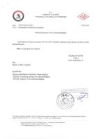 Samsun İli Aydinlatma Komisyonu 03.03.2014 tarihli kararı