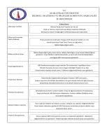 tc dumlupınar üniversitesi bilimsel araştırma ve projeleri komisyonu