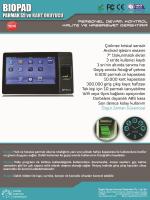 """Çizilmez kristal sensör Android işletim sistemi 7"""" Dokunmatik ekran"""