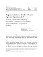 Tam Metin (PDF) - Addicta - Türkiye Yeşilay Cemiyeti