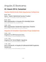 Programı PDF Olarak Göster