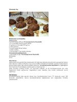 Çikolatalı Poş Malzemeler (6-8 kişilik): Hamuru için: eme a  g     200