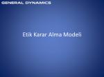 Etik Karar Alma Modeli