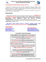 staj komisyonu duyurusu - Makina Mühendisliği