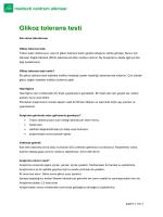 Glikoz tolerans testi
