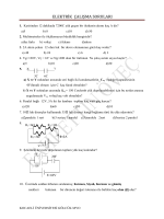 elektrik çalışma soruları