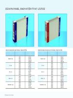 dizayn panel radyator fıyat lıstesı