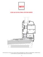 esse-60 ısıyalıtımlı sistem serisi