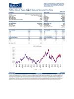 Aylık Bülten - Türkiye Yüksek Piyasa Değerli Bankalar A Tipi Borsa