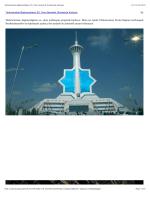 Türkmenistan Bağımsızlığının 20. Yılını Asimetrik Ürünleriyle Kutluyor